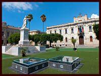 Piazza Italia scavi Corso Garibaldi B&B degli Ottimati Reggio Calabria centro
